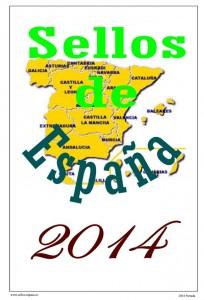 Portada de Hojas de Sellos de España 2014