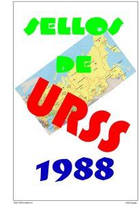 Portada del album de URSS 1988