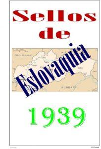 Primera pagina del album de Eslovaquia 1939