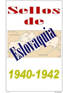 Portada del album de Eslovaquia 1940-1942