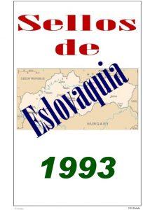 Portada del album de Eslovaquia 1993