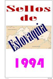 Portada del album de Eslovaquia 1994