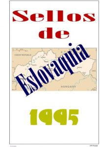 Portada del album de Eslovaquia 1995