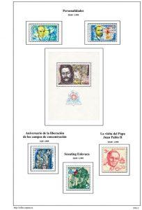Segunda pagina del album de Eslovaquia 1995