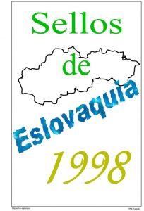 Portada del album de Eslovaquia 1998