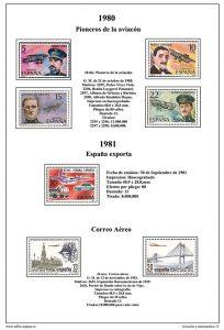 Segunda pagina del album de Aviación 2ª parte (PDF)