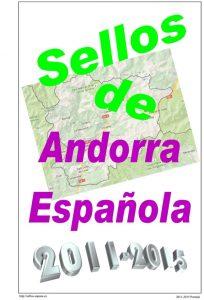 Portada del album de Andorra Española 2011-2015