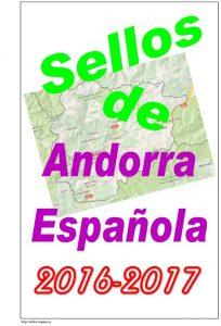 Portada del album de Andorra Española 2016-2017