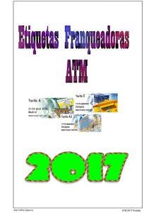 Portada del album de ATMs España 2017