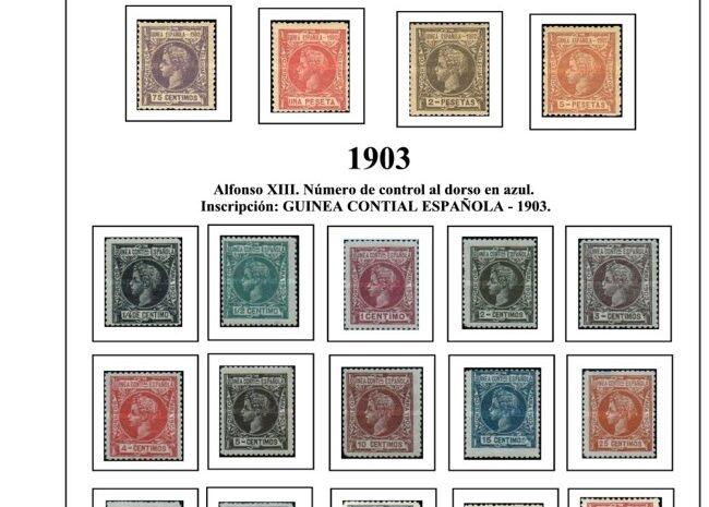 Guinea Ecuatorial 1902-1910