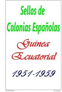 Portada del album de Guinea Ecuatorial 1951-1959