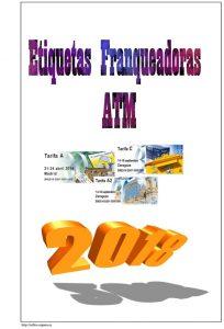 Portada de Hojas de ATMs de España 2018