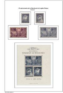 Segunda pagina del album de Polonia 1939