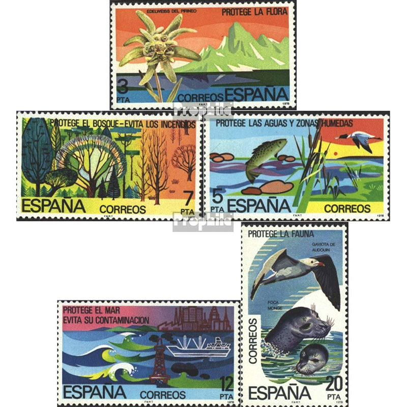 Protección del Medio Ambiente, España 1978